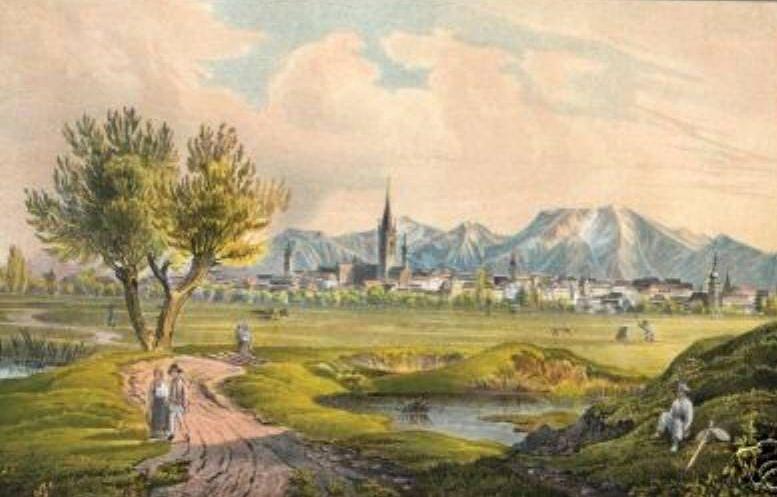 affe_1.Hermannstadt. Lithographie um 1845.vergroessert