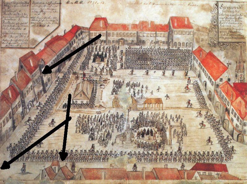 sibiu decapitarea lui johann zabanius sachs von harteneck