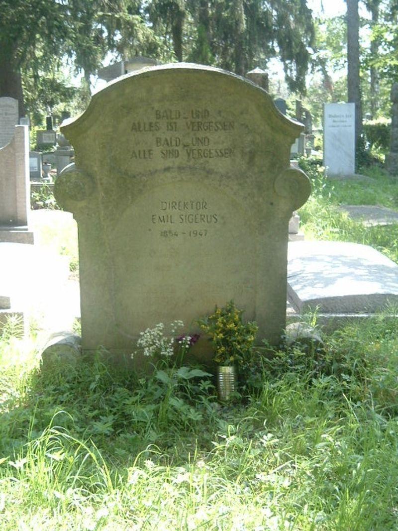 sibiu piatra funerara sigerus