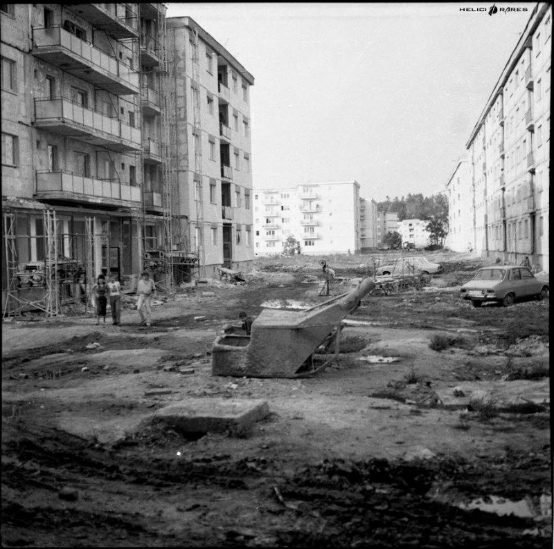Sibiu - Strada Hategului, Cartier Strand - 1983 1924701_1406949952890972_403806269_n