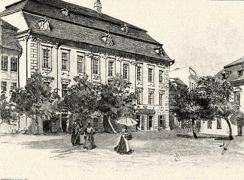 06117. 2.A Brukenthal-múzeum Nagy-Szebenben. Háry Gyulátol.