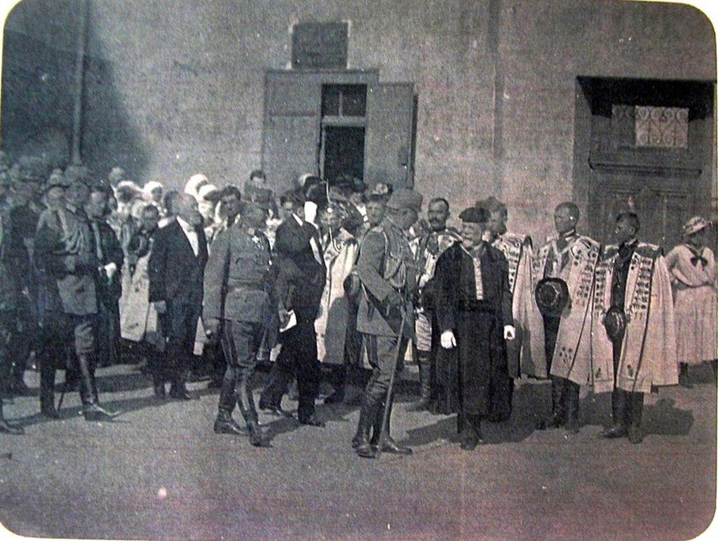 Kaiser Wilhelm II zu Besuch in H. am 25.09.1917 1