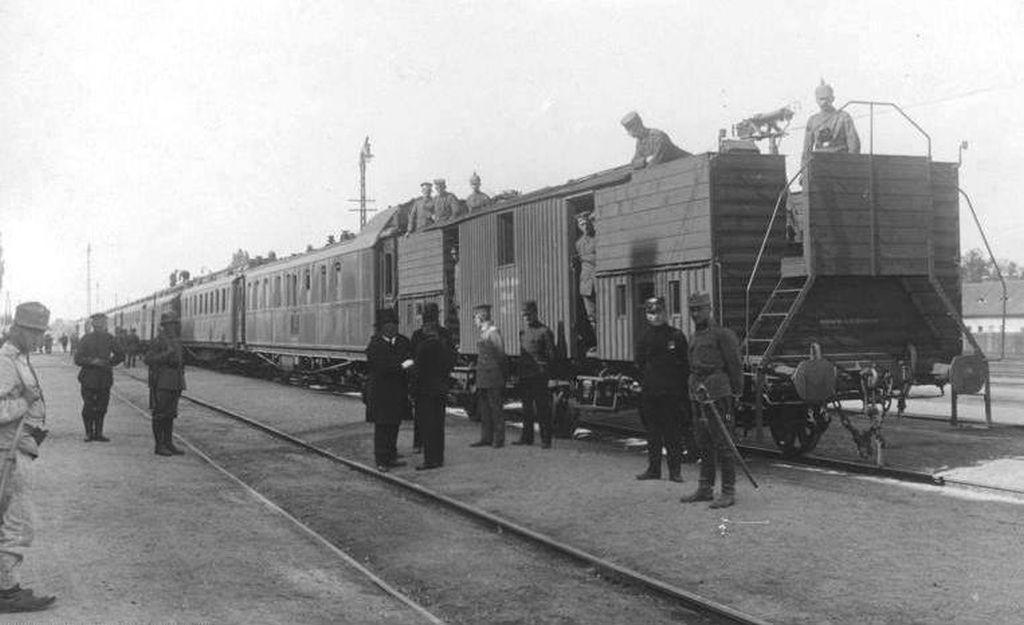 Kaiser Wilhelm II zu Besuch in H. am 25.09.1917 2