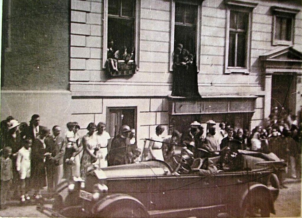 Kaiser Wilhelm II zu Besuch in H. am 25.09.1917 3