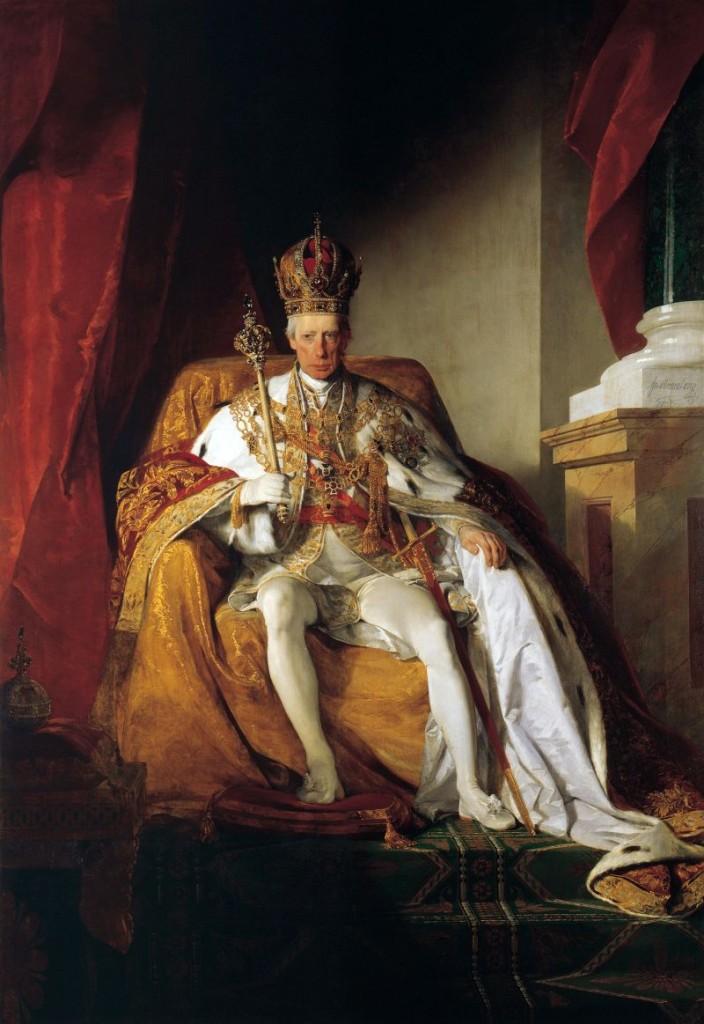 franz I Francis_II,_Holy_Roman_Emperor_by_Friedrich_von_Amerling_003